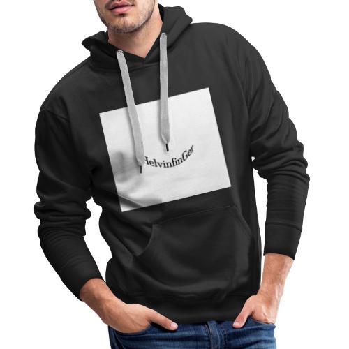 HilvinfinGer - Sudadera con capucha premium para hombre