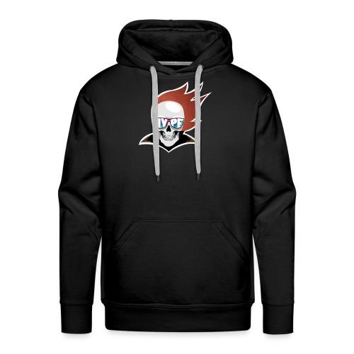 Hyped Skeletone - Männer Premium Hoodie