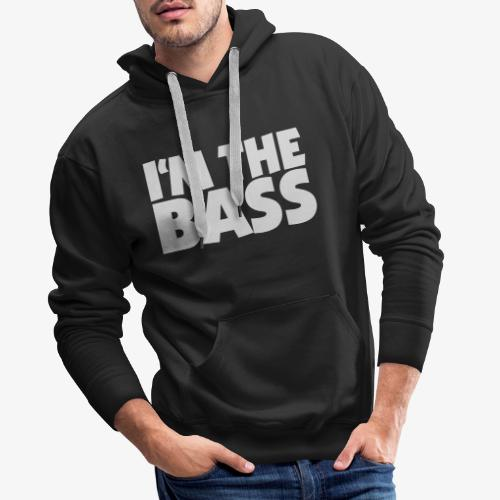 Im the Bass 2 (Weiß) - Männer Premium Hoodie