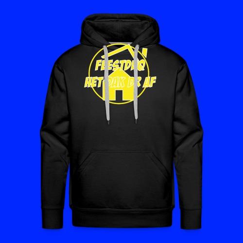 Geel Logo - Mannen Premium hoodie