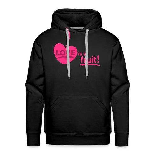 love_is_a_fruit_2c_225x225 - Männer Premium Hoodie