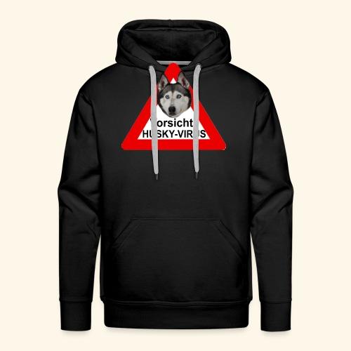 huskyvirus 1 - Männer Premium Hoodie