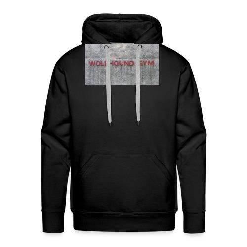Wolfhound Gym - Mannen Premium hoodie