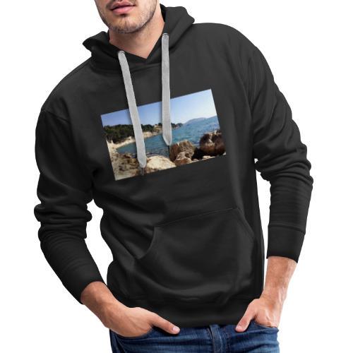 Corniche - Sweat-shirt à capuche Premium pour hommes