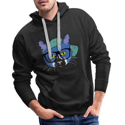 Mister Meow - Männer Premium Hoodie