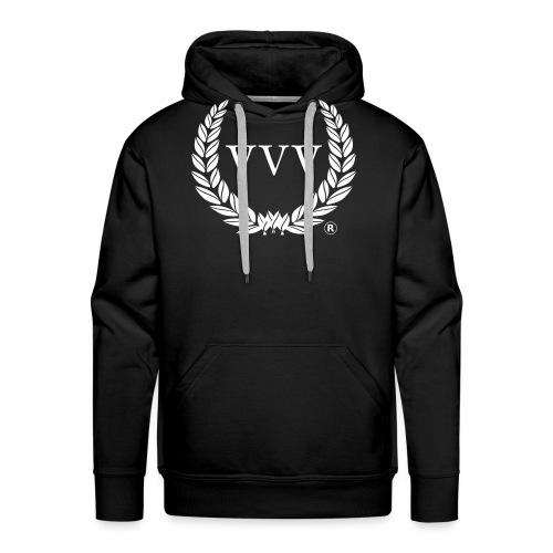 Red & White Team VVV (Large Logo) - Men's Premium Hoodie
