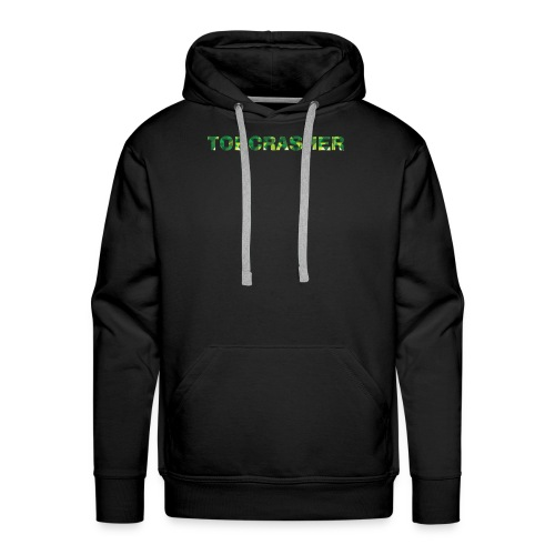 Tshirt Green triangles big - Männer Premium Hoodie