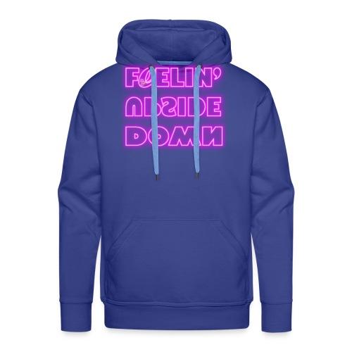 FeelinUpsideDown Neon - Felpa con cappuccio premium da uomo