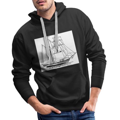 Schiff der BlADE8 - Männer Premium Hoodie