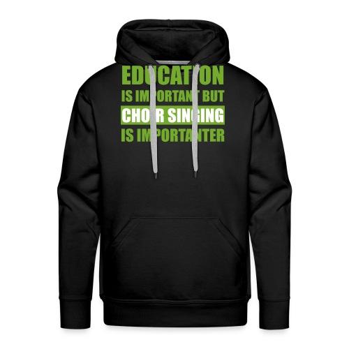 educationw - Männer Premium Hoodie