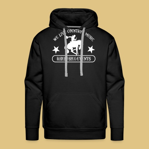 2We_live_Country_Music.png - Männer Premium Hoodie