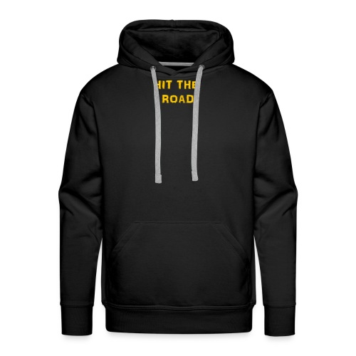 HIT THE ROAD - Mannen Premium hoodie