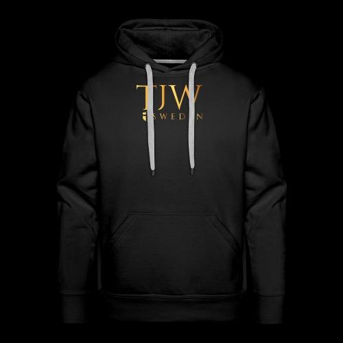 Gold logo - Men's Premium Hoodie