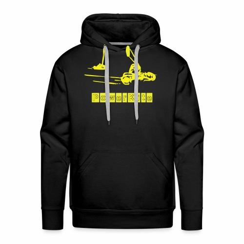 powerkite ombre (2 coleurs) - Sweat-shirt à capuche Premium pour hommes