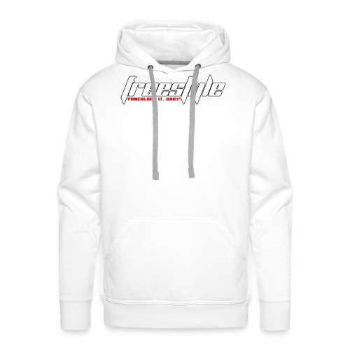 Freestyle - Powerlooping, baby! - Men's Premium Hoodie