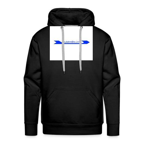 logo touletmarc - Sweat-shirt à capuche Premium pour hommes