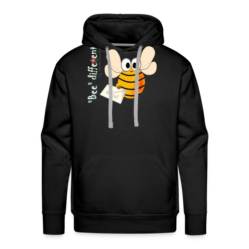 BEE DIFFERENT3 - Sweat-shirt à capuche Premium pour hommes