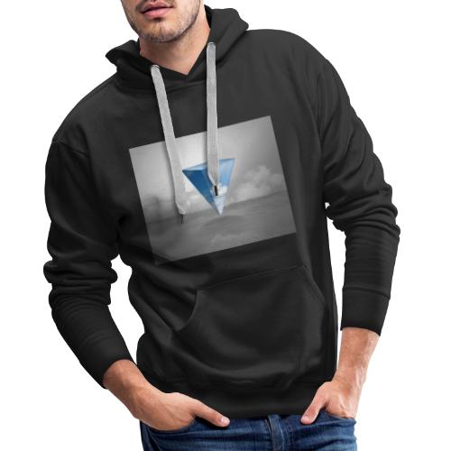Geometrie Grey - Männer Premium Hoodie