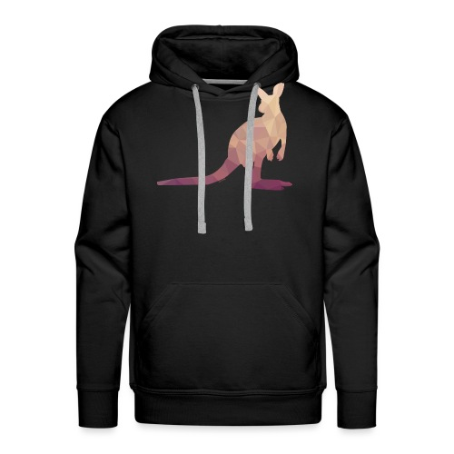 Kangarou Mesh d'Australie Flavaura - Sweat-shirt à capuche Premium pour hommes