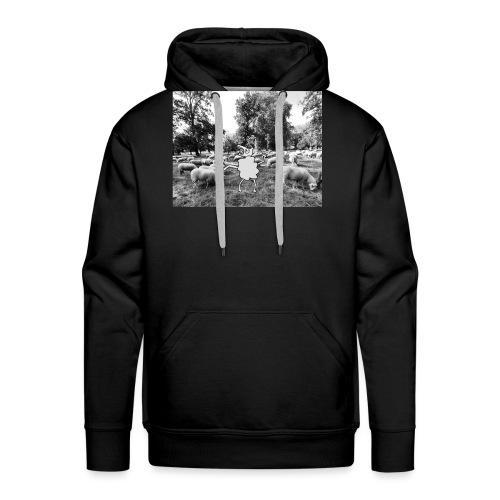 raar schaap2 - Mannen Premium hoodie