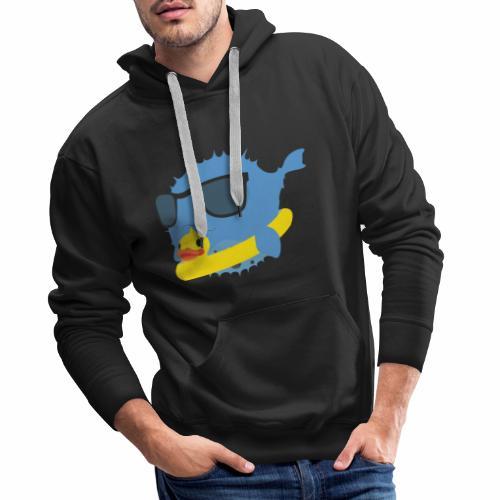 NEO-FUGU Spring summer duck - Sweat-shirt à capuche Premium pour hommes