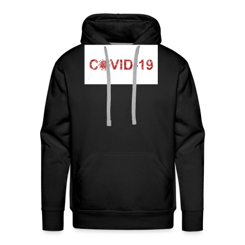covid 19 - Sudadera con capucha premium para hombre