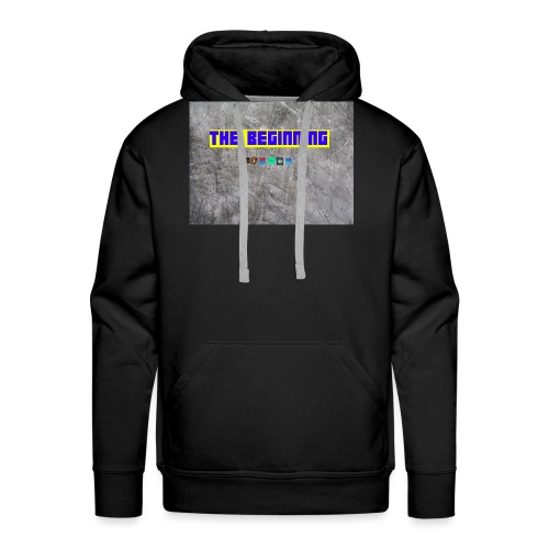 The Beginning - Men's Premium Hoodie