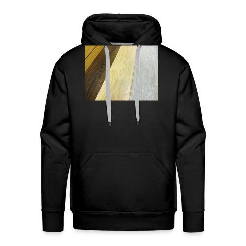 Texturas - Sudadera con capucha premium para hombre