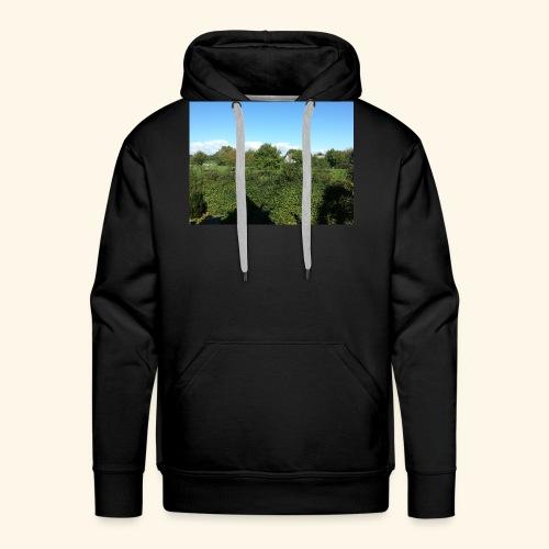 Jolie temps ensoleillé - Sweat-shirt à capuche Premium pour hommes
