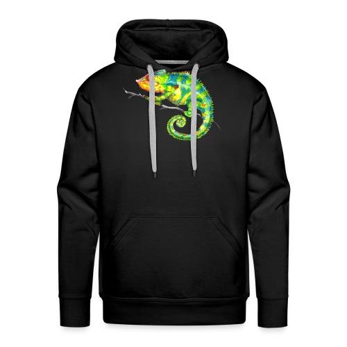 MIKO Chamäleon Chamaeleon Chameleon - Männer Premium Hoodie
