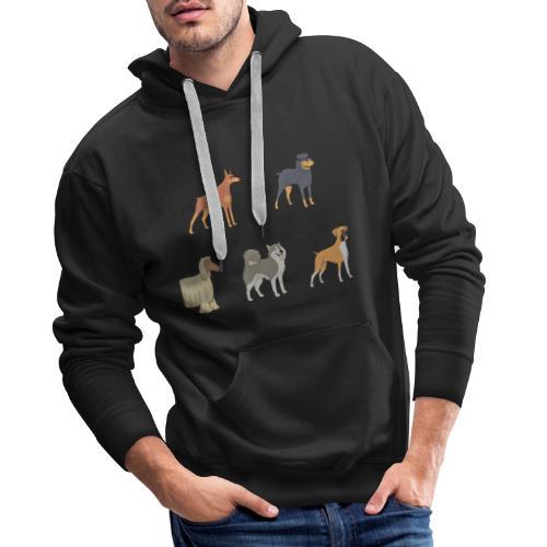 DOGS - Männer Premium Hoodie
