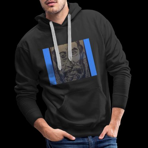 portrait Arcimboldo fusain - Sweat-shirt à capuche Premium pour hommes