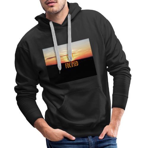 stay focused sunset - Männer Premium Hoodie