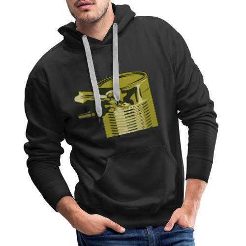 Droef blik - Mannen Premium hoodie
