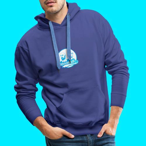 new logo shopper - Felpa con cappuccio premium da uomo