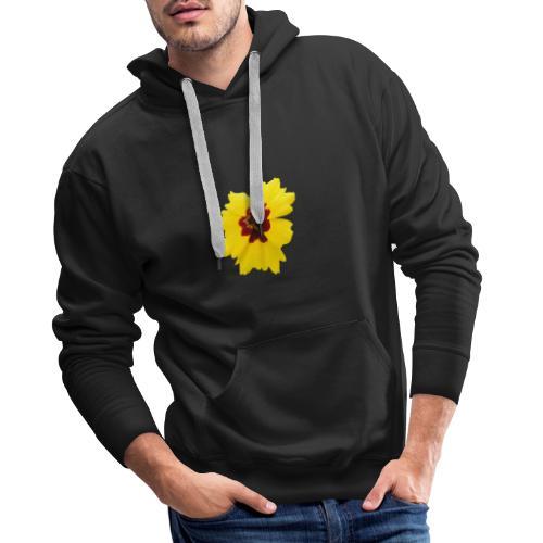 Yellow Red Flower - Männer Premium Hoodie