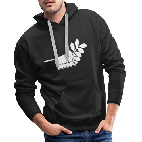 Global Campaign on Military Spending Logo v1 - Men's Premium Hoodie