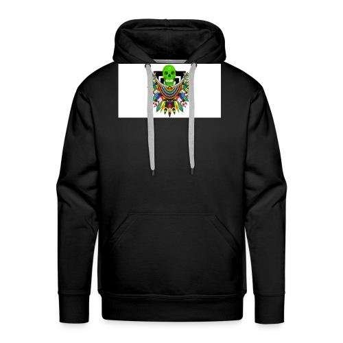 Colorful skull - Miesten premium-huppari