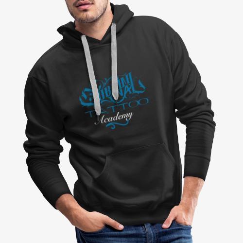 logo academy - Felpa con cappuccio premium da uomo