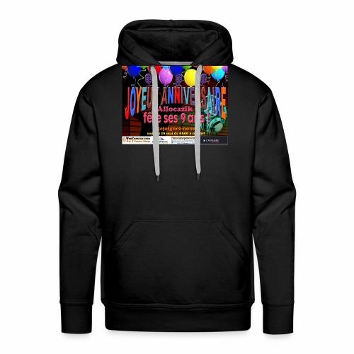 anniversaire 9ans - Sweat-shirt à capuche Premium pour hommes