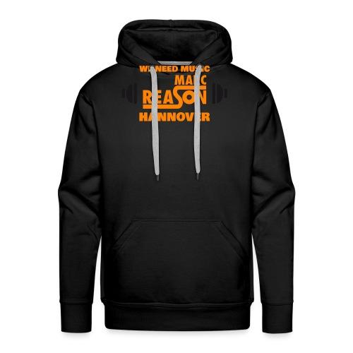 marc reason Logo 2020 1 orange - Männer Premium Hoodie