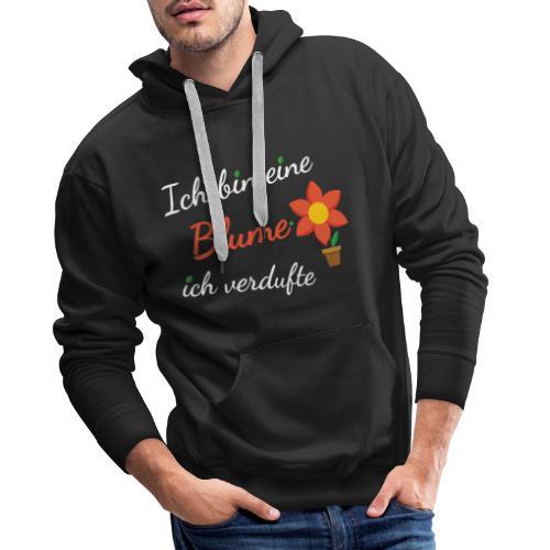 Blume Garten Gärtner Florist Shirt Geschenk - Männer Premium Hoodie