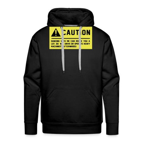 Caution - Männer Premium Hoodie