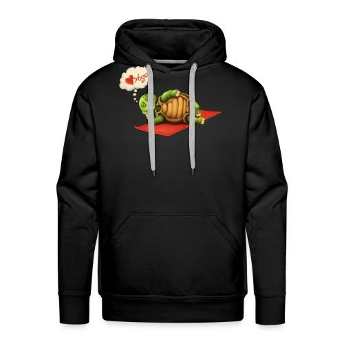 Love-Yoga Turtle - Männer Premium Hoodie
