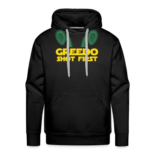 GreedoShotFirst 02 - Mannen Premium hoodie