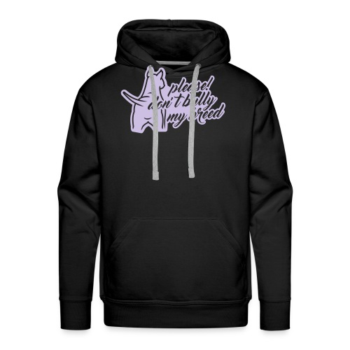 please! don´t bully 1c - Männer Premium Hoodie