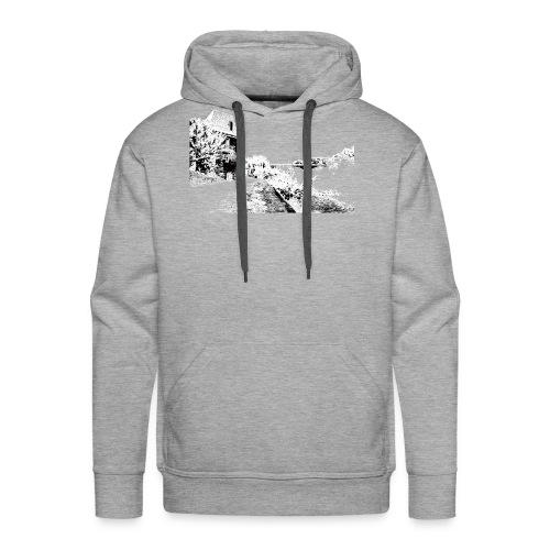 J'aime Mouleydier - Pont F - Sweat-shirt à capuche Premium pour hommes