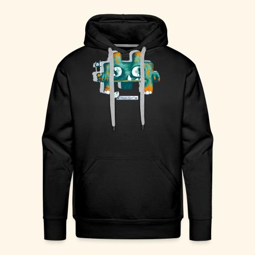 SpaceInvasor - Sweat-shirt à capuche Premium pour hommes