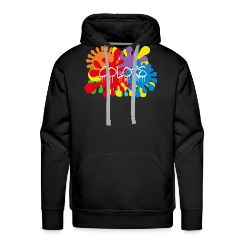 COLORS TACHES - Sweat-shirt à capuche Premium pour hommes