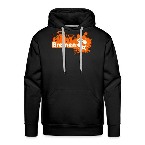 bremen fan - Männer Premium Hoodie